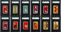 "Boxing Cards:General, 1911 E80 Philadelphia Caramel ""44 Scrappers"" SGC Complete Set (11)Plus Very Rare E79 Red Backs! - #3 on the SGC Set Registry...."