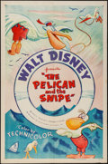 "Movie Posters:Animation, The Pelican and the Snipe (RKO, R-1955). One Sheet (27"" X 41"").Animation.. ..."