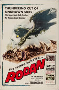 """Movie Posters:Science Fiction, Rodan! The Flying Monster (Toho/ DCA, 1957). One Sheet (27"""" X 41"""").Science Fiction.. ..."""