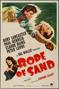 "Movie Posters:Adventure, Rope of Sand (Paramount, 1949). One Sheet (27"" X 41""). Adventure....."