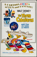 """Movie Posters:Animation, The Three Caballeros (Buena Vista, R-1977). One Sheet (27"""" X 41"""").Animation.. ..."""