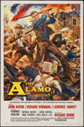 """Movie Posters:Western, The Alamo (United Artists, 1960). Roadshow Todd-AO One Sheet (27"""" X 40.5""""). Western.. ..."""