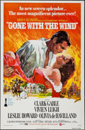 "Movie Posters:Academy Award Winners, Gone with the Wind (MGM, R-1974). One Sheet (27"" X 41""). Academy Award Winners.. ..."