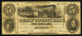 Obsoletes By State:Indiana, Cannelton, IN - Perry County Bank $5 Feb. 1, 1854. ...