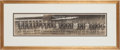 Baseball Collectibles:Photos, 1912 Washington Senators Panoramic Photograph....
