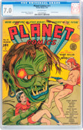 Golden Age (1938-1955):Science Fiction, Planet Comics #11 (Fiction House, 1941) CGC FN/VF 7.0 Off-whitepages....