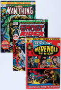 Bronze Age (1970-1979):Horror, Marvel Bronze Age Horror Comics Group (Marvel, 1970s) Condition:Average VG.... (Total: 61 Comic Books)