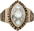 Football Collectibles:Others, 1988 San Francisco 49ers Super Bowl Championship Ladies' Ring....