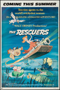 """Movie Posters:Animation, The Rescuers (Buena Vista, 1977). One Sheets (2) (27"""" X 41"""")Advance & Review Style. Animation.. ... (Total: 2 Items)"""