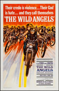 "Movie Posters:Exploitation, The Wild Angels (American International, 1966). One Sheet (27"" X41"") & Pressbook (16 Pages, 11"" X 17""). Exploitation.. ...(Total: 2 Items)"
