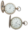 Timepieces:Pocket (pre 1900) , Swiss & Waltham Key Wind Pocket Watches Runners. ... (Total: 2Items)