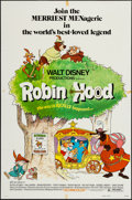 """Movie Posters:Animation, Robin Hood (Buena Vista, 1973). One Sheet (27"""" X 41"""") & Lobby Card Set of 9 (11"""" X 14""""). Animation.. ... (Total: 10 Items)"""