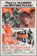 """Movie Posters:Exploitation, Hell's Bloody Devils (Independent-International, 1970). One Sheet(27"""" X 41""""). Exploitation.. ..."""