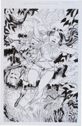 Original Comic Art:Splash Pages, Jack Jadson Avengelyne #2 Splash Page 7 Original Art(undated)...
