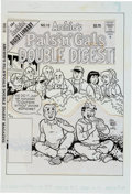 Original Comic Art:Covers, Stan Goldberg and Rudy Lapick Archie's Pals 'n' Gals DoubleDigest #12 Cover Original Art (Archie Comics, 1995)....