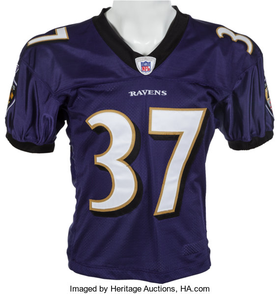 buy online de7b1 4dc84 2004 Deion Sanders Game Worn Baltimore Ravens Jersey ...