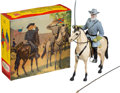 Non-Sport Cards:Other, Vintage Hartland - General Robert E. Lee With Retail Box. ...