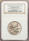 Ancients:Greek, Ancients: SELEUCID KINGDOM. Antiochus VII Euergetes (138-129 BC).AR tetradrachm (no weight given)....