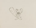 Animation Art:Production Drawing, Tom and Jerry Jerry Mouse Production Drawing Animation Art(MGM, 1960s).... (Total: 2 Original Art)
