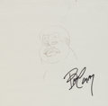 Animation Art:Production Drawing, Fat Albert and the Cosby Kids Production Drawing AnimationArt (Filmation, 1972)....