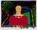 Animation Art:Production Cel, The New Adventures of Flash Gordon Production Cel AnimationArt with COA (Filmation, 1979).... (Total: 2 Items)