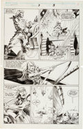 Original Comic Art:Panel Pages, Bruce Zick and Armando Gil Pirates of Dark Water #3 Pages 3 and 8 Original Art Group (Marvel 1992).... (Total: 2 Original Art)