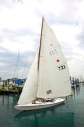 Political:Presidential Relics, John F. Kennedy: His Star Class Sailboat, Flash II, Which He Owned and Raced with Older Brother Joseph P. Kennedy ... (Total: 3 Items)