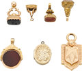 Timepieces:Watch Chains & Fobs, A Collection of Seven Fobs. ... (Total: 7 Items)