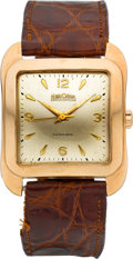 Timepieces:Wristwatch, Herodia 18k Gold Vintage Automatic. ...