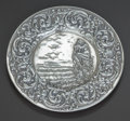 Silver Holloware, American:Plates, AN UNGER BROTHERS SILVER PIN TRAY, Newark, New Jersey, circa 1900.Marks: UB (interlaced), STERLING, 925, FINE. 4-1/...