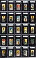 Baseball Cards:Sets, 1909-11 T206 White Border SGC Graded Partial Set (354). ...