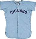 Baseball Collectibles:Uniforms, 1965 Tommie Agee Game Worn Chicago White Sox Jersey....