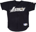 Baseball Collectibles:Uniforms, 1996 Jeff Bagwell Game Worn Houston Astros Jersey. ...