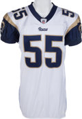 Football Collectibles:Uniforms, 2009 James Laurinaitis Game Worn St. Louis Rams Jersey & Pants. ...