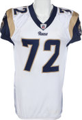 Football Collectibles:Uniforms, 2009 Chris Long Game Worn St. Louis Rams Jersey and Pants....