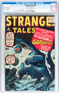 Silver Age (1956-1969):Science Fiction, Strange Tales #85 (Marvel, 1961) CGC FN/VF 7.0 Off-white to whitepages....