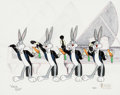 Animation Art:Model Sheet, The Wrong Number/Rhapsody Rabbit Limited Edition CelAnimation Art #425/500 (Warner Brothers/Virgil Ross MastersColle...
