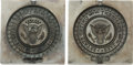 Political:Presidential Relics, Presidential Seals: Pair of Molds. ...