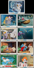 "Movie Posters:Animation, The Rescuers (Buena Vista, 1977). Lobby Card Set of 9 (11"" X 14"")& Photos (8) (8"" X 10""). Animation.. ... (Total: 17 Items)"