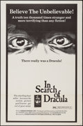 """Movie Posters:Documentary, In Search of Dracula (Independent-International, 1975). One Sheet (27"""" X 41"""") & Uncut Pressbook (8 Pages, 11"""" X 16.5""""). Docu... (Total: 2 Items)"""