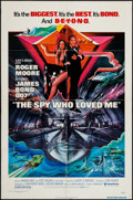 """Movie Posters:James Bond, The Spy Who Loved Me (United Artists, 1977). One Sheet (27"""" X 41"""")& Uncut Pressbook (12 Pages, 11"""" X 17""""). James Bond.. ...(Total: 2 Items)"""