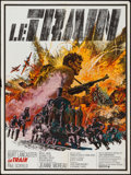 """Movie Posters:War, The Train (United Artists, 1965). French Affiche (23"""" X 31""""). War....."""