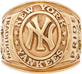 Baseball Collectibles:Others, 2009 Yankee Stadium Old Timers Day Ring Presented to Bob Turley....