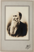 Photography:Cabinet Photos, Confederate General Jubal Early Post-Civil War Photograph,...