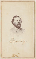 Photography:CDVs, Confederate General Junius Daniel Carte de Visite....