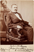 Photography:Cabinet Photos, Union General John M. Thayer Cabinet Card Photograph, taken in1869....