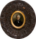 Political:3D & Other Display (pre-1896), Zachary Taylor: Handsome French Wall Plaque....