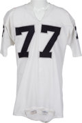 Football Collectibles:Uniforms, 1973-74 Bubba Smith Game Worn Oakland Raiders Jersey, MEARS A10. ...