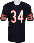 Football Collectibles:Uniforms, 1975-78 Walter Payton Game Issued Chicago Bears Jersey. ...