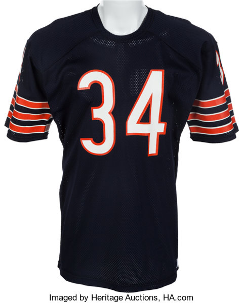 huge selection of d8fa5 6168a 1975-78 Walter Payton Game Issued Chicago Bears Jersey ...
